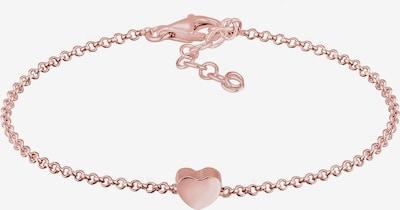 ELLI Armband Herz in rosa, Produktansicht