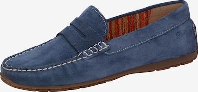 SIOUX Mocassins in de kleur Duifblauw, Productweergave