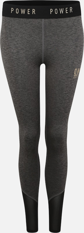 ONLY PLAY Sport-Hose 'ONPNAHLA TRAINING TIGHTS' in dunkelgrau, Produktansicht