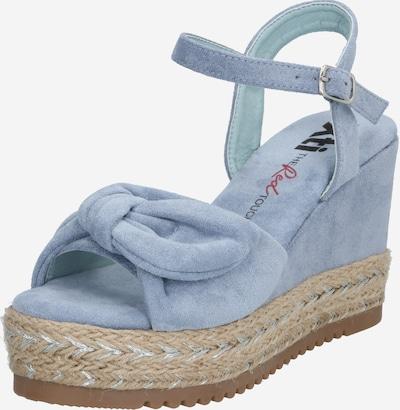 Xti Sandale in sand / blau, Produktansicht