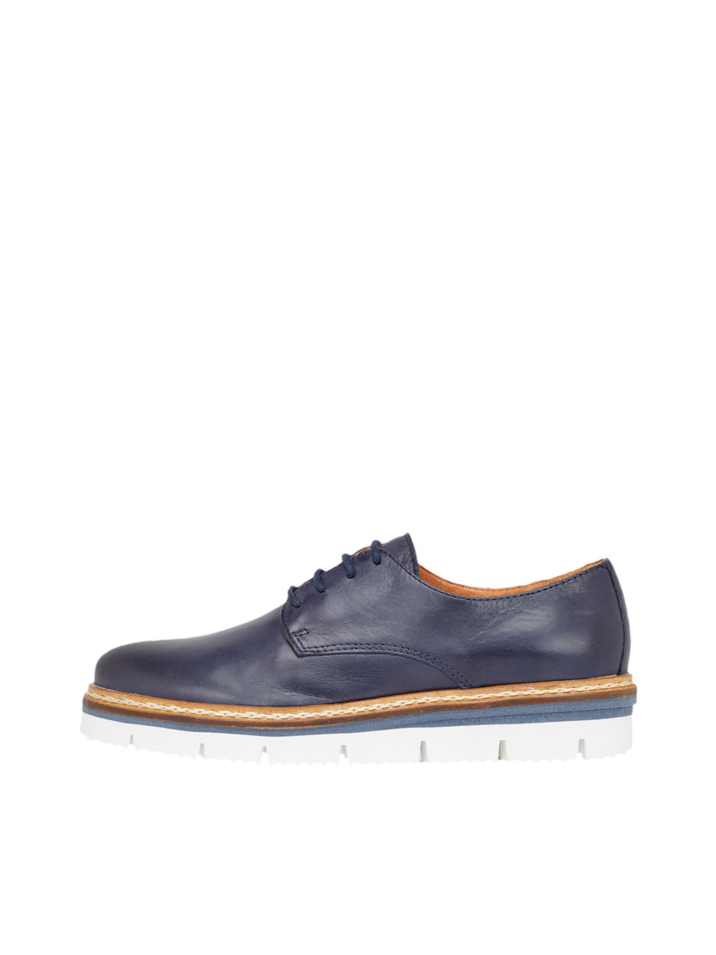 Bianco Derby-Schuhe  Cleaved Laced Up