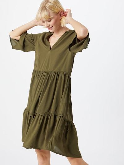 SAINT TROPEZ Šaty 'Bellis' - khaki: Pohled zepředu