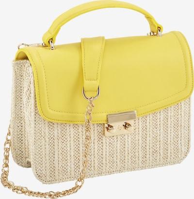 heine Tasche in gelb / weiß, Produktansicht