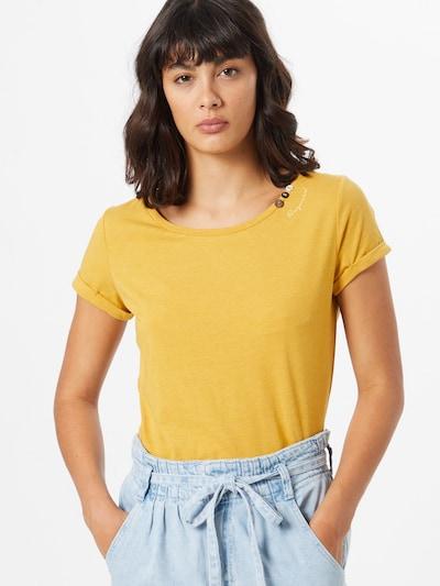 Ragwear T-Shirt 'Florah' in gelb: Frontalansicht