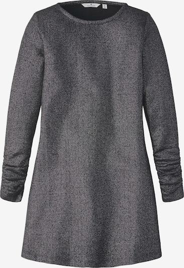 TOM TAILOR Kleid im Glitzer-Look in schwarz, Produktansicht