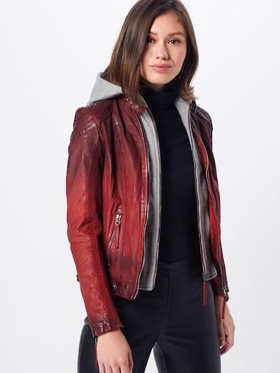 Gipsy Tussenjas 'CASCHA LAMOV' in de kleur Rood: Vooraanzicht