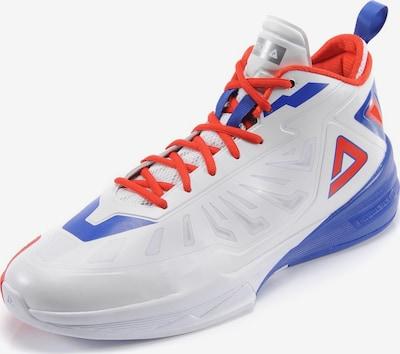 PEAK Basketballschuhe 'Milos Teodosic Lightning' in royalblau / dunkelorange / weiß, Produktansicht