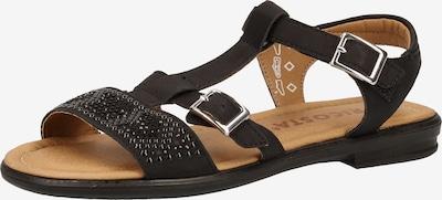 RICOSTA Sandalen in schwarz, Produktansicht