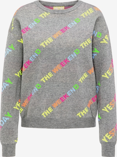 MYMO Pullover in graumeliert / mischfarben, Produktansicht
