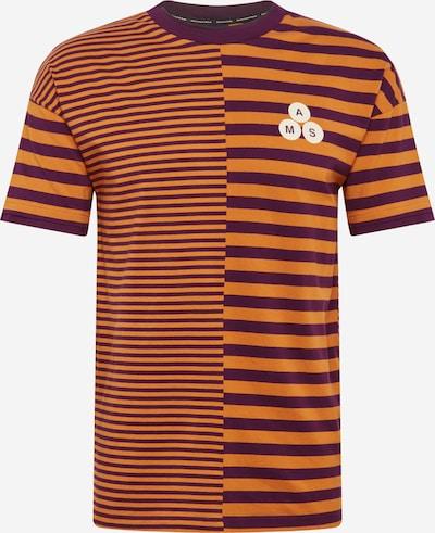 SCOTCH & SODA Shirt in de kleur Sinaasappel / Bordeaux, Productweergave