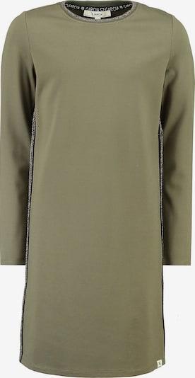 GARCIA Kleid in oliv / schwarz / silber, Produktansicht
