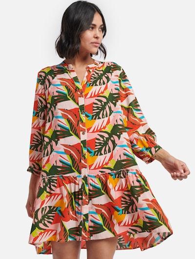Shiwi Kleid in mischfarben: Frontalansicht