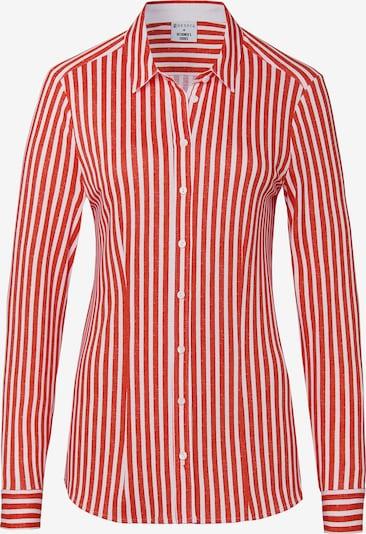 DESOTO Jerseybluse in rot / weiß, Produktansicht