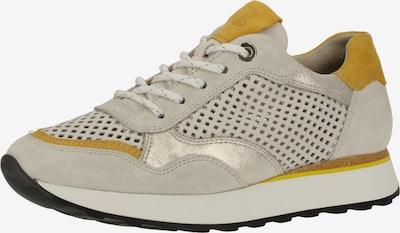 Paul Green Sneakers laag in de kleur Donkergeel / Lichtgrijs, Productweergave