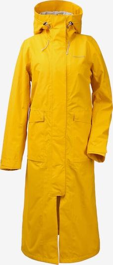 Didriksons Kapuzenmantel 'Sissel' in gelb, Produktansicht