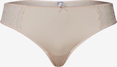 Mey Stringi w kolorze jasnobrązowym, Podgląd produktu