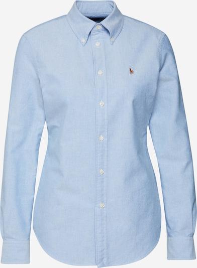 POLO RALPH LAUREN Bluza | svetlo modra barva, Prikaz izdelka