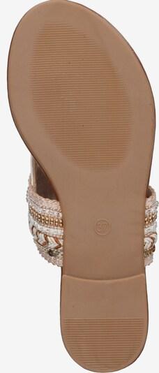 ABOUT YOU Sandale 'Natalie' in nude: Ansicht von unten