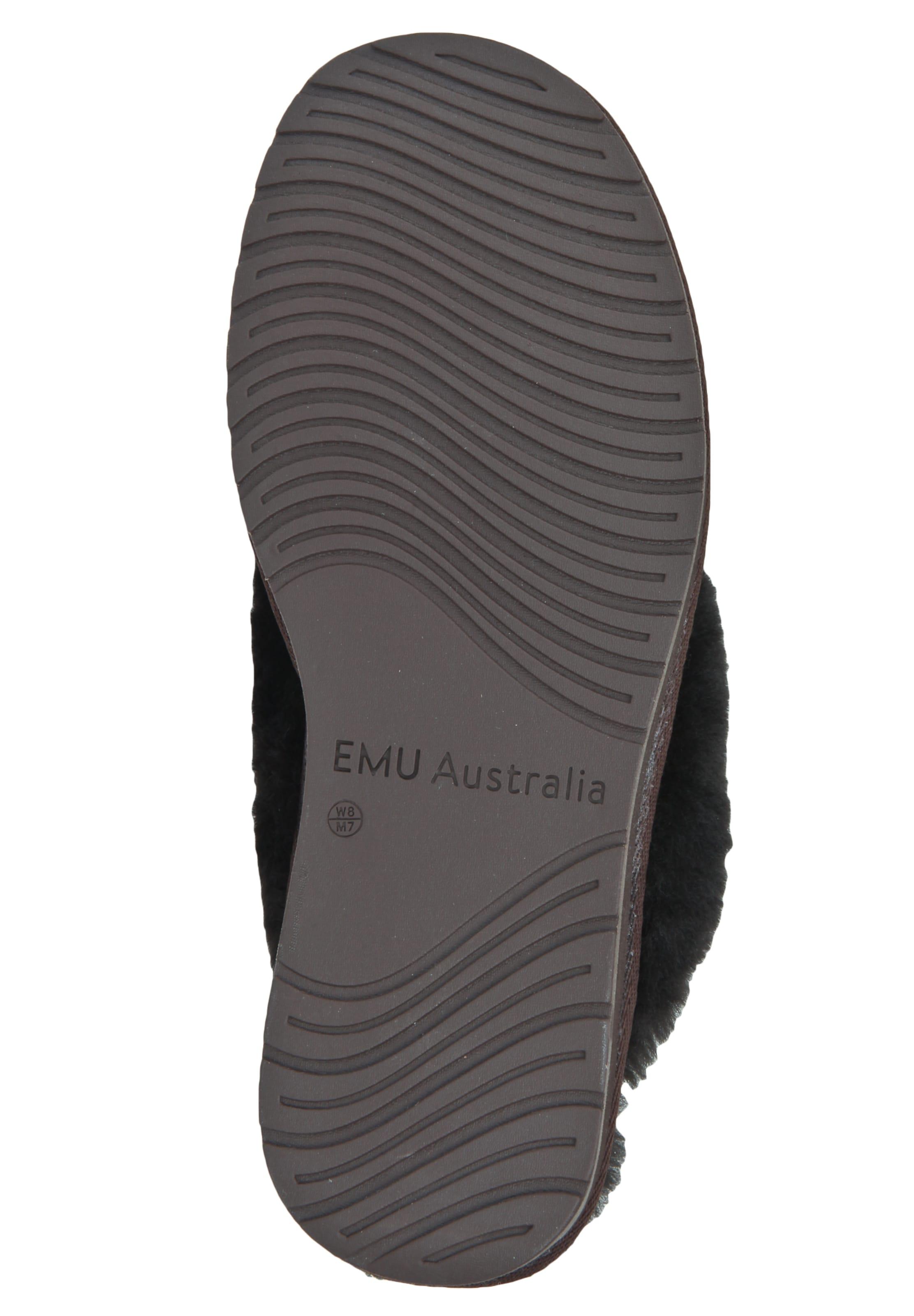 Emu Australia Hausschuh In Braun In Australia Hausschuh Emu Emu Braun DH9EI2
