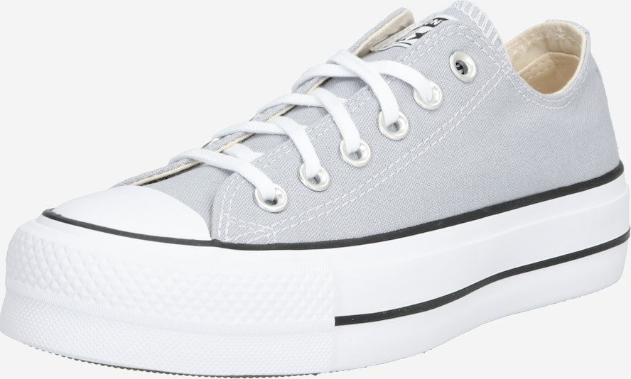 CONVERSE Baskets basses 'ALL STAR LIFT ' en gris / blanc, Vue avec produit
