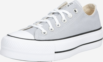 CONVERSE Sneaker 'ALL STAR LIFT ' in grau / weiß: Frontalansicht