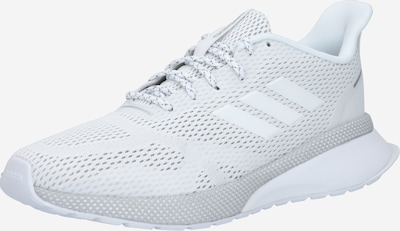 ADIDAS PERFORMANCE Chaussure de course 'Nova Run X' en blanc: Vue de face
