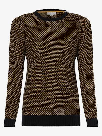 Marie Lund Pullover in senf / schwarz, Produktansicht