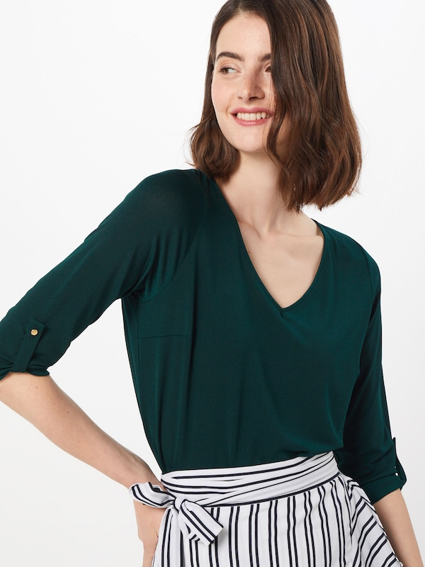 ABOUT YOU Blouse 'Darlin' in de kleur Groen, Modelweergave