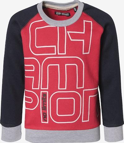 LEMON BERET Sweatshirt in nachtblau / grau / rot, Produktansicht