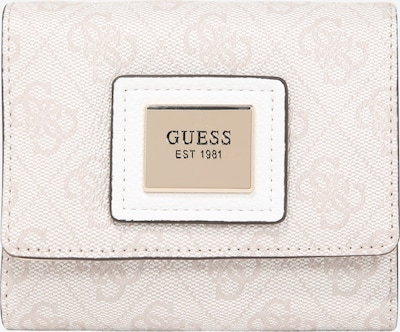 GUESS Portemonnaie 'Candace' in hellgrau, Produktansicht