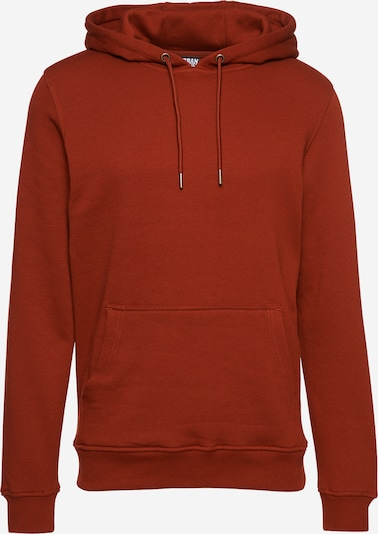Urban Classics Sweatshirt in de kleur Donkeroranje, Productweergave