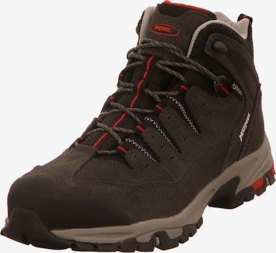 MEINDL Boots in de kleur Donkergrijs / Rood, Productweergave