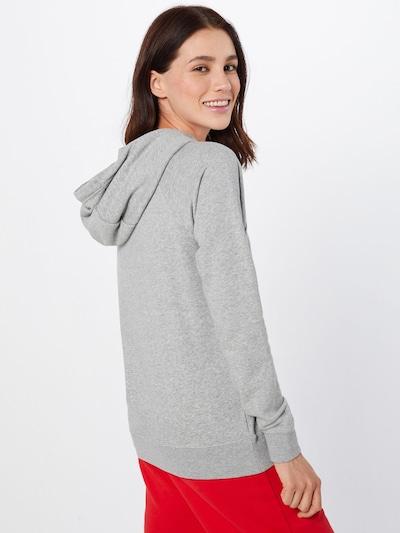 Nike Sportswear Sweatshirt in de kleur Grijs gemêleerd: Achteraanzicht