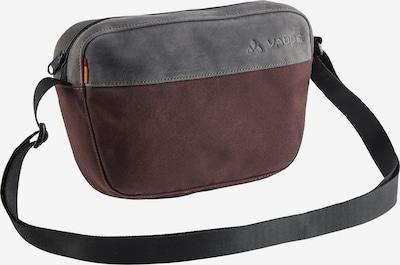 VAUDE Umhängetasche in grau / burgunder, Produktansicht
