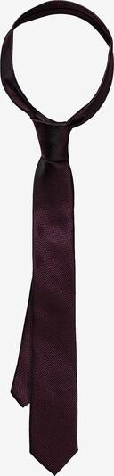 WEISE Krawatte in weinrot, Produktansicht