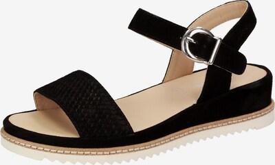 SIOUX Sandale ' Achara-700 ' in schwarz, Produktansicht