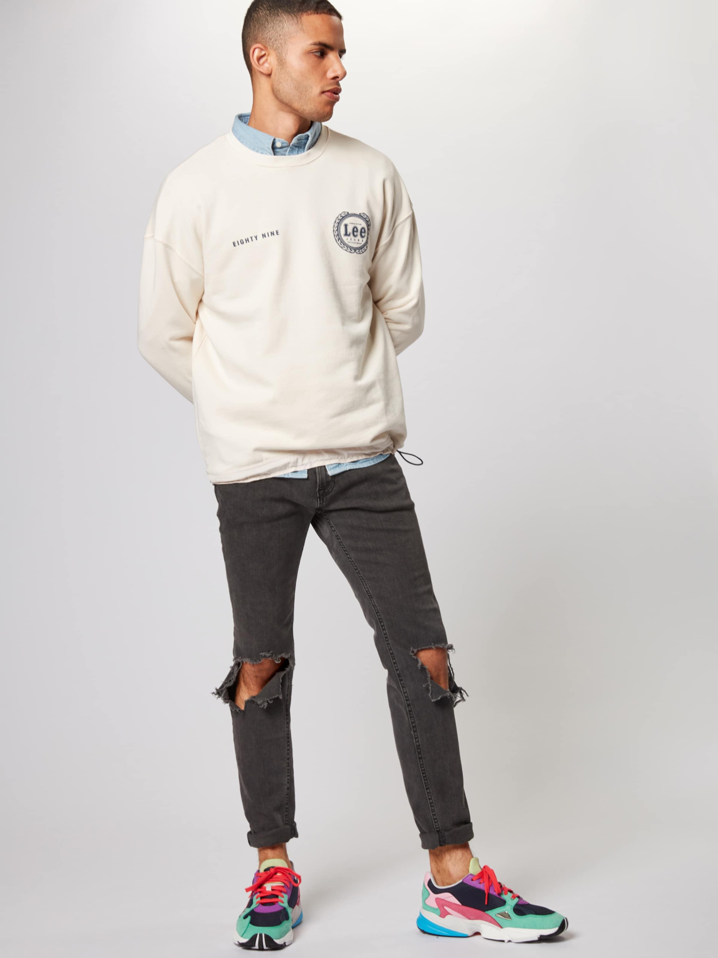 'drawcord' In Lee Sweatshirt Sweatshirt 'drawcord' Lee Lee Sweatshirt 'drawcord' In Creme In Creme X8nO0wPk