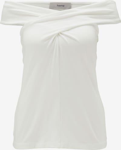 heine T-shirt en blanc cassé, Vue avec produit