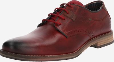 BULLBOXER Šnurovacie topánky - bordová, Produkt