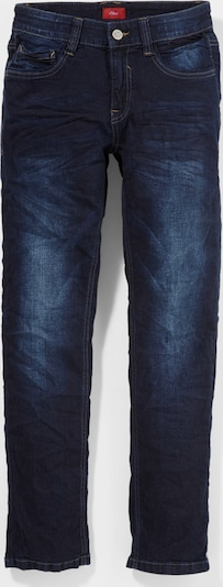 s.Oliver Junior Seattle: Jeans mit Used-Waschung in blue denim, Produktansicht