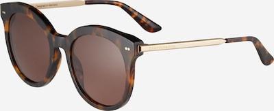 Kapten & Son Sonnenbrille 'Paris' in braun / gold, Produktansicht