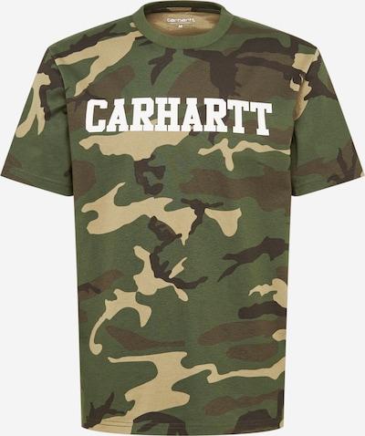 Carhartt WIP Shirt 'College' in braun / dunkelgrün / schwarz, Produktansicht