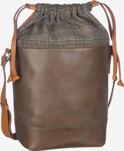 JOST Handtasche ' Checks 7231 Umhängetasche ' in dunkelbraun / dunkelgrün, Produktansicht
