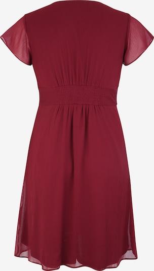 Kokteilinė suknelė 'Evelin' iš ABOUT YOU Curvy , spalva - vyšninė spalva: Vaizdas iš galinės pusės