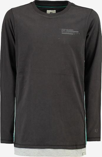 GARCIA Shirt in türkis / graumeliert, Produktansicht