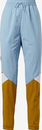 Reebok Classics Classic Sporthose 'Gigi Hadid Track Pants' in blau / senf / weiß, Produktansicht