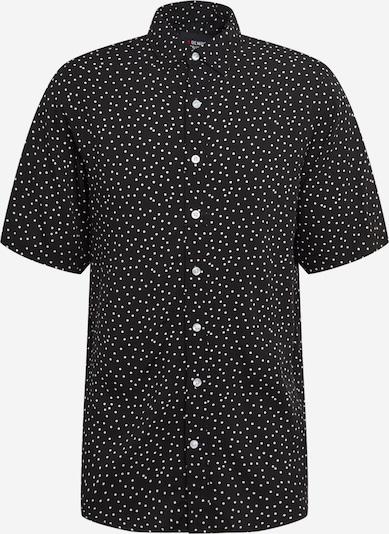 Denim Project Hemd 'Grande ' in schwarz, Produktansicht