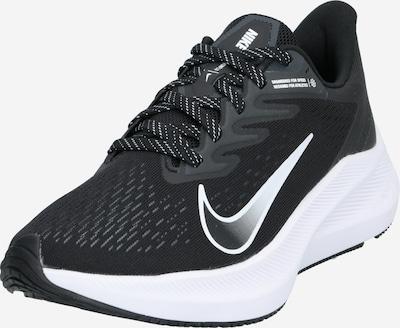 NIKE Tekaški čevelj 'Nike Air Zoom Winflo 7' | črna / bela barva, Prikaz izdelka