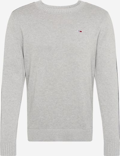 Tommy Jeans Pullover ' Tape ' in hellgrau, Produktansicht