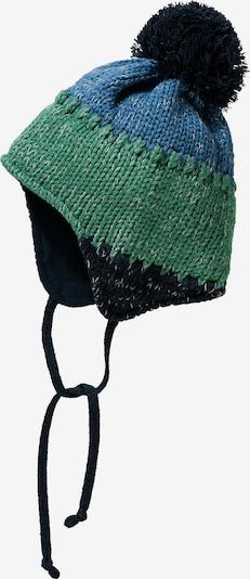 DÖLL Bommelmütze in blau / dunkelblau / grün, Produktansicht